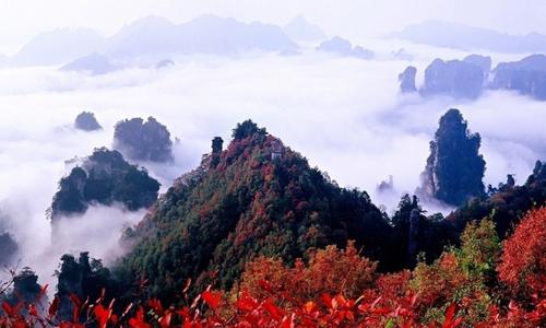 长沙、韶山、张家界五日游(双飞)